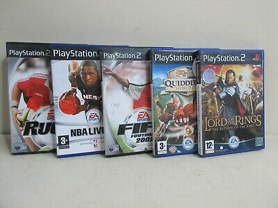 PS2 Games Bundle - Sport / Harry Potter / Lord of the Rings (B28/03)