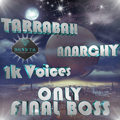 Destiny 2 - Tarrabah - One Thousand Voices - Anarchy - RAID BOSS ONLY - PS4