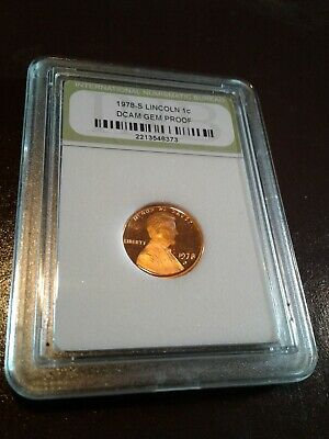 1978 S Lincoln Memorial Cent Gem DCAM Proof Penny  US Coin