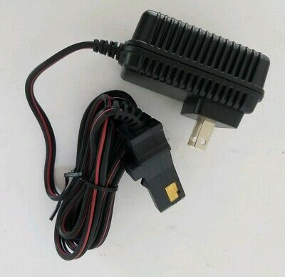SafeAMP 12-Volt Charger for Power Wheels Gray Battery and Orange Top Battery New