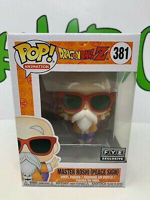 Funko POP! Animation Dragon Ball Z #381: Master Roshi [Peace Sign] FYE Exclusive