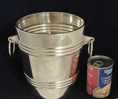 Vintage Silver Plate Wmf Germany Large Champagen Bucket Wine Cooler