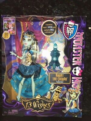 Monster High 13 Wishes Frankie Stein Doll New