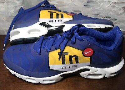 86e304c8e4 NIKE AIR MAX Plus TN Tuned 1 NS GPX Big Logo Royal Blue Black White ...