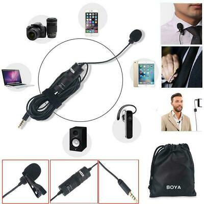 BOYA BY-M1 3.5 mm Lavalier Microphone for Smartphone Cameras with Collar Clip DY