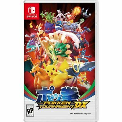 Pokken Tournament DX for Nintendo Switch Brand New! Factory Sealed
