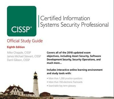 CISSP Official Study Guide 8th Edition 2018+Official Practice Exam 5th Edition