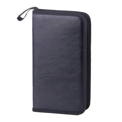80 DVD CD DISC Holder Album Storage Case Folder Wallet Carry Bag Organizer Box