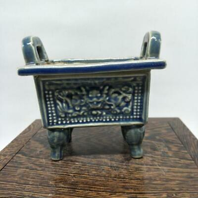 Chinese ancient antique hand make Green Glazed Ding