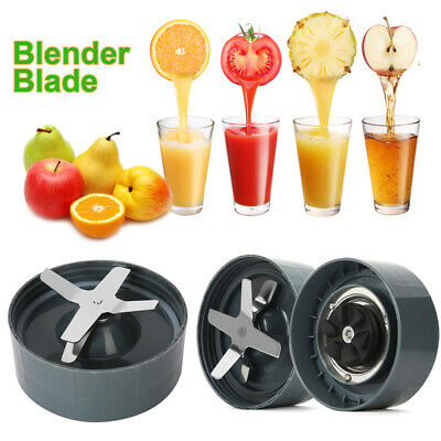 1/2x Extractor Blade Cross Fit For Nutri Bullet Blender Part 900W/600W Juicer AU