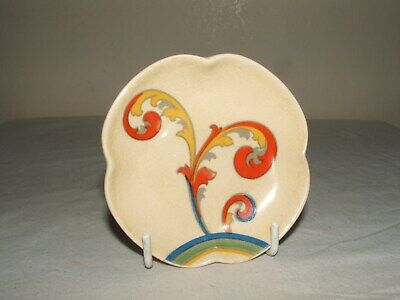 Royal Doulton Art Deco Syren Butter Pat Rare & Truly  Stunning