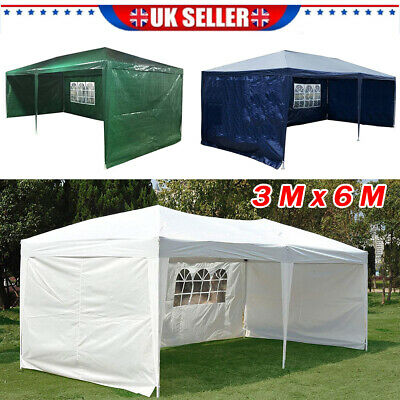 3MX6M Waterproof Outdoor Garden Gazebo Party Tent Marquee Awning Canopy Shelter