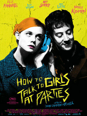 Affiche : 120x160 cm How to Talk to Girls at Parties