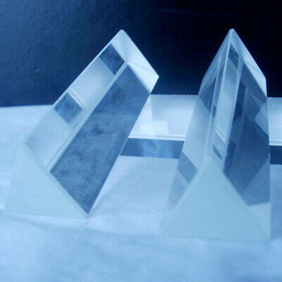 Teaching of Physics of precision optical glass Prism. T4A3