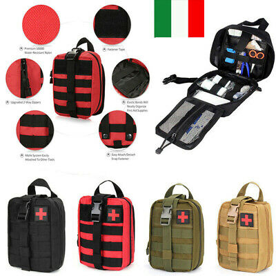 Outdoor Tactical Molle Emergency Rescue First Aid Bag Medical Kit Pouch Tasche