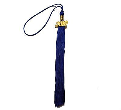 Graduation Tassel with 2019 Year Charm Grad Days(Royal Blue) Royal Blue