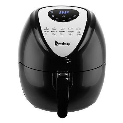 5.3L Capacity Digital Air Fryer Kitchen  W/ LCD Screen and Non-Stick Coating