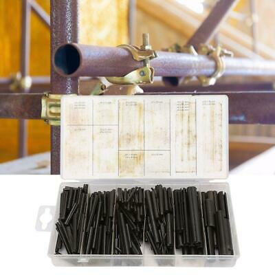450pcs Steel Split Spring Dowel Tension Roll Hollow Pin Assortment Fastener Set