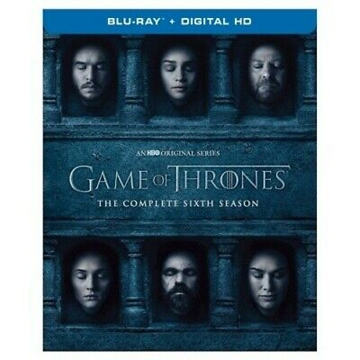 NEW Game of Thrones: The Complete Sixth Season (Blu-ray)