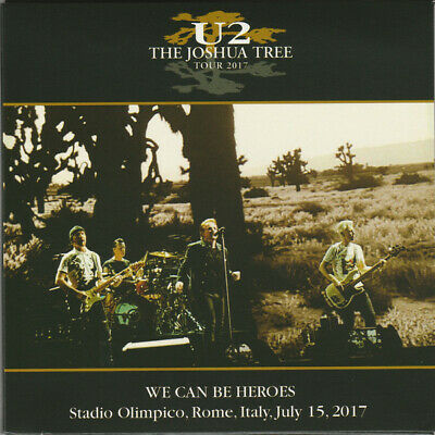 U2 - We Can Be Heroes The Joshua Tree Tour 2017 New Cd Sealed