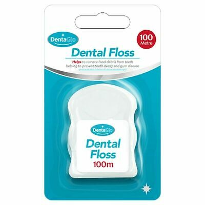 Large 100M Dental Tooth Floss String Hygiene Teeth -In Compact Case