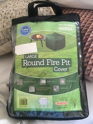 BOSMERE LARGE ROUND FIRE PIT COVER MB785 50cm X 84cm BRAND NEW