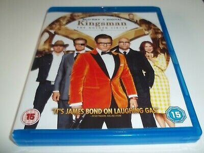 Kingsman - The Golden Circle Blu Ray / Taron Egerton / Colin Firth / Mark Strong