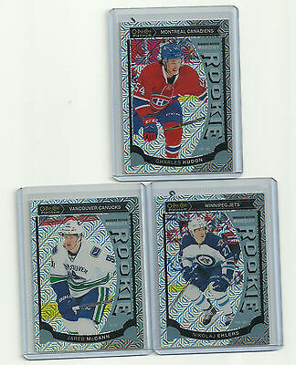 JARED McCANN 15-16 OPC PLATINUM #M20 TRAXX RC PARALLEL O-PEE-CHEE CANUCKS ROOKIE