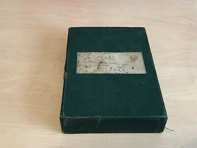 Antique (Late 1800s) Black's New Large Map of England & Wales - 5 * Map Box Set