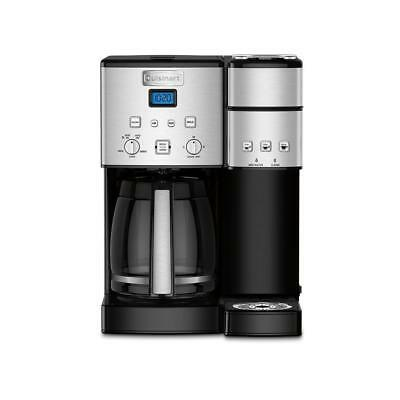 Cuisinart SS-15 12 Cup Stainless Steel Single Serve Coffee Maker - Black USED