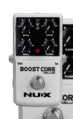 NUX Boost Core Deluxe Clean Dirty Sparkle