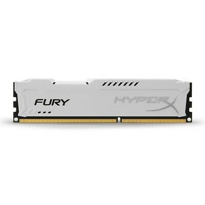 Kingston HyperX FURY 4GB 1600MHz DDR3 CL10 DIMM - White (HX316C10FW/4)