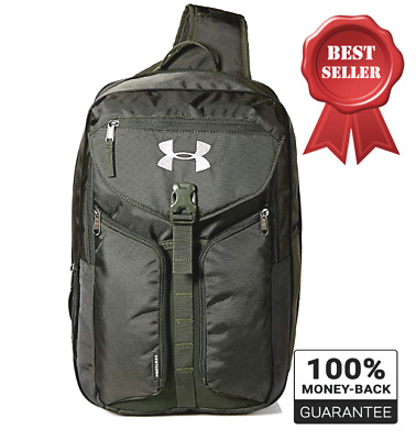buy online 7d701 1c0f4 Under Armour Storm Unisex Compel Sling Travel Day Bag, Tactical Artillery  Green