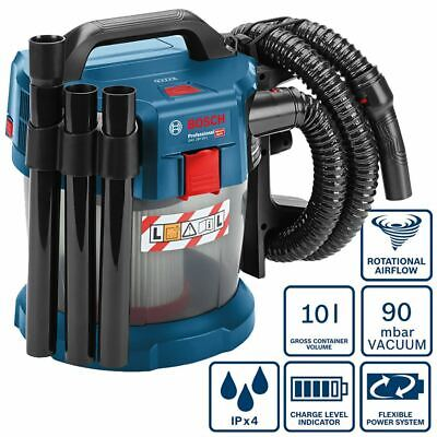 Bosch Battery Wet/Dry Vacuum Gas 18 V 10 L Solo without Battery/Charger