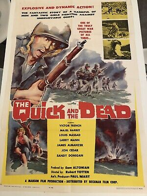 The Quick And The Dead 1963 Original Movie Poster - Beckman Film Corporation
