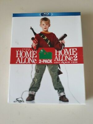 Home Alone / Home Alone 2: Lost in New York [Blu-ray] 2 Pack, Ac-3/Dolby D Nice!