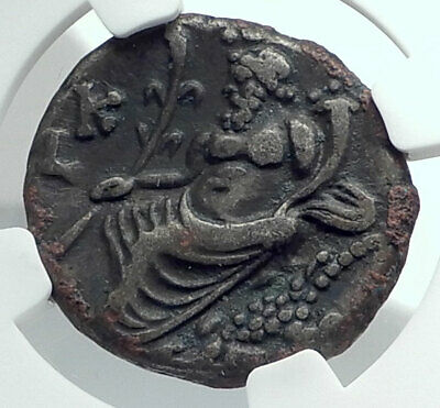 HADRIAN Authentic Ancient Alexandria Egypt Tetradrachm Roman Coin NGC i78528