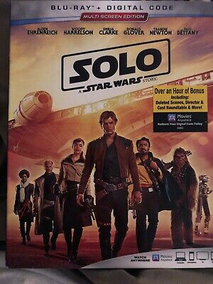 SOLO A STAR Wars Story Brand New Disney DVD Free Shipping