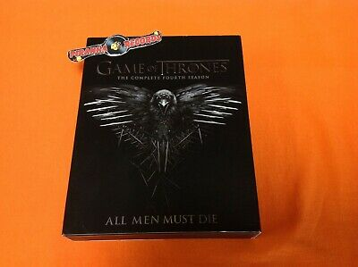 Game Of Thrones The Complete Fourth Season USED Blu-Ray Piranha Records