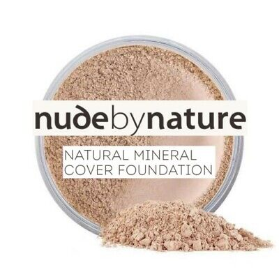 Nude by Nature Mineral Cover Foundation Powder 15g (Light/Dark/Veil/Bronzer)