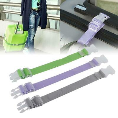 Adjustable Baggage Strap Travel Luggage Strap Suitcase Strap Button Buckle Belts