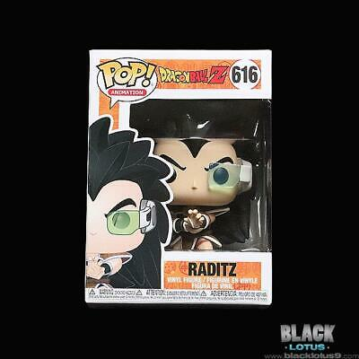 Funko Pop! Raditz DBZ Dragon Ball Z Anime Series 6 IN STOCK Pop (2019) 616