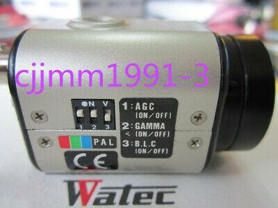 1PC used  Watec WAT-250D   PAL System