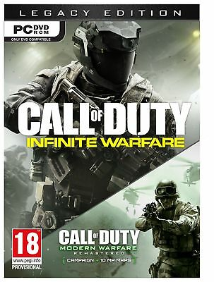 Call of Duty Infinite Warfare Legacy Edition 18+ Years - PC Game