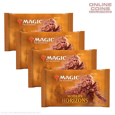 Magic The Gathering - Modern Horizons - Booster Packs x 4 - 60 cards in Total