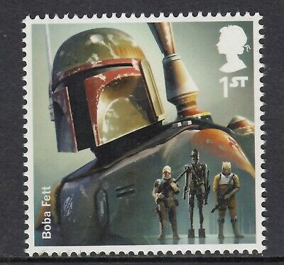Star Wars - Boba Fett   On  2015  Gb  Unmounted Mint Stamp