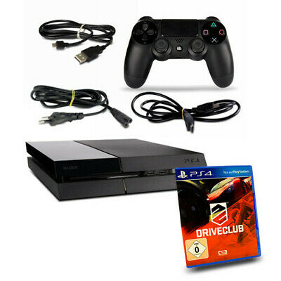 PS4 - PLAYSTATION 4 Console CUH1216A 500 GB Nero #34 +Controller+Driveclub