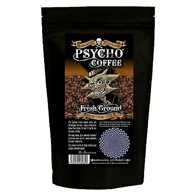 Reduced Psycho 250g Fresh Ground Extra Strong Coffee Machine & Cafetieres