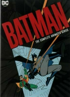 Batman The Complete Animated Series  (DVD, 2019, 12-Disc Collection) Sealed