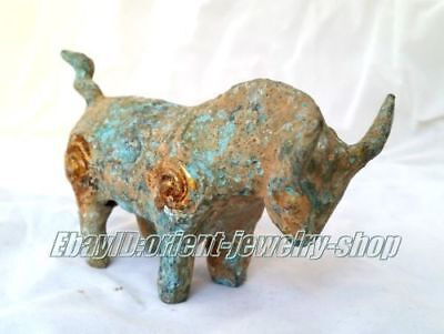 Ancient Vintage Bronze Antique Dynasty patina horse statue